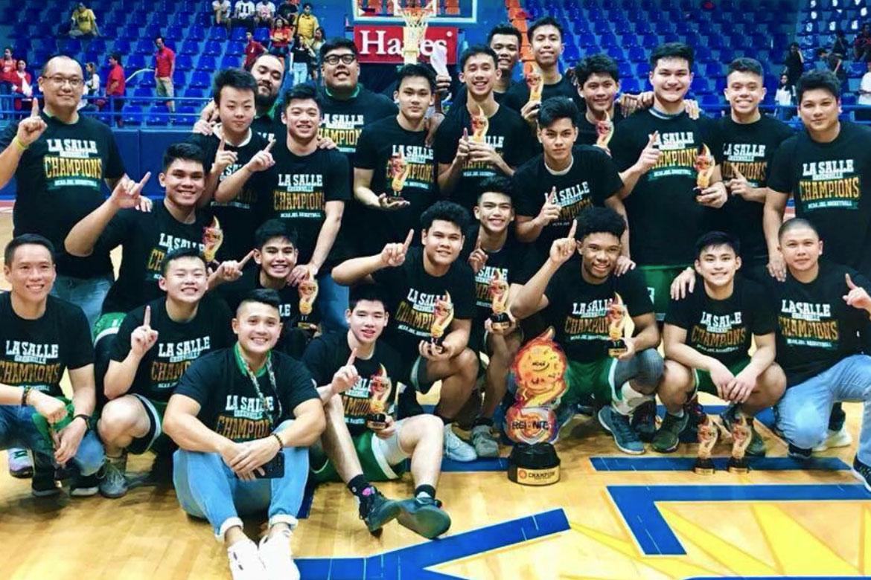 NCAA-Season-93—Juniors-Basketball—La-Salle-Greenies