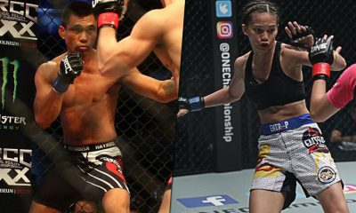 Tiebreaker Times Rome Trinidad trains with Andrew Benibe for upcoming bout Mixed Martial Arts News ONE Championship  Rome Trinidad ONE: Grit and Glory Andrew Benibe