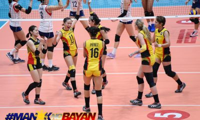 Philippine Sports News - Tiebreaker Times Cargo Movers pull inspiration from sisters Lady Spikers' championship win News PSL Volleyball  Ramil De Jesus MJ Perez F2 Logistics Cargo Movers DLSU Women's Volleyball Aby Marano 2018 PSL Season 2018 PSL Grand Prix