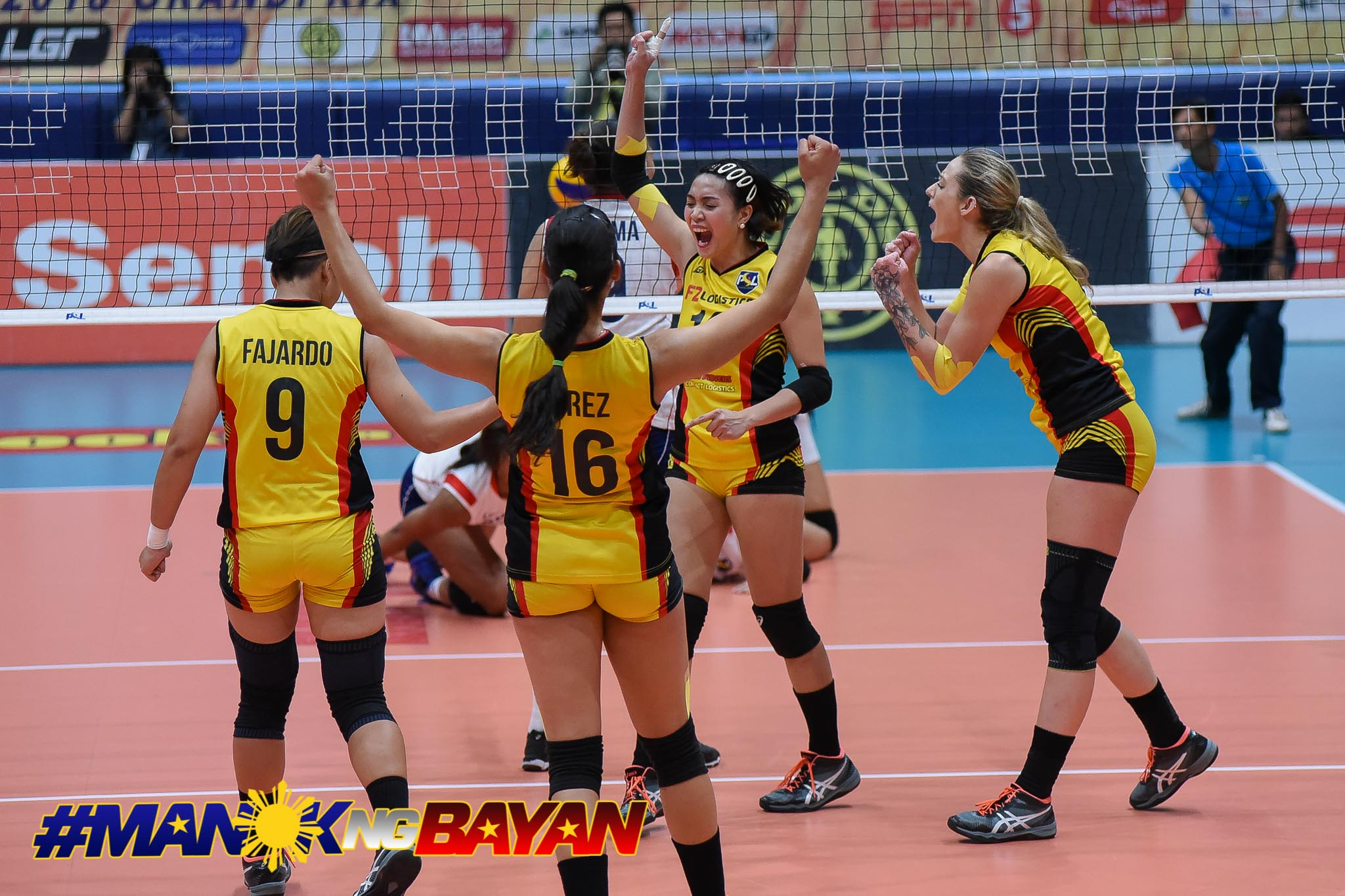 Tiebreaker Times Cargo Movers pull inspiration from sisters Lady Spikers' championship win News PSL Volleyball  Ramil De Jesus MJ Perez F2 Logistics Cargo Movers DLSU Women's Volleyball Aby Marano 2018 PSL Season 2018 PSL Grand Prix