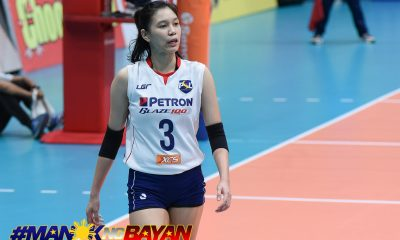 Tiebreaker Times Mika Reyes emphasizes patience as Petron chases sixth title News PSL Volleyball  Petron Blaze Spikers Mika Reyes 2018 PSL Season 2018 PSL Invitational Cup