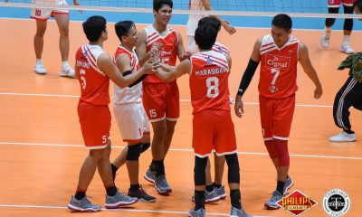 Tiebreaker Times Cignal demolishes rival Air Force for second win News PVL Volleyball  Vince Mangulabnan Sandy Montero Rex Intal RanRan Abdilla Oliver Alnadro Marck Espejo Fauzi Ismail Dante Alinsunurin Cignal HD Spikers Air Force Jet Spikers 2018 PVL Season 2018 PVL Men's Reinforced Conference