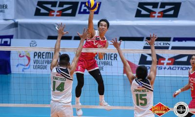 Philippine Sports News - Tiebreaker Times Vice Co. hands IEM first loss News PVL Volleyball  Vice Co. Blockbusters Rudy Gatdula Rikko Marmeto Richard Solis Rey Diaz Rafael Presnede Owen Suarez JP Bugaoan Joeward Presnede IEM Volley Masters 2018 PVL Season 2018 PVL Men's Reinforced Conference
