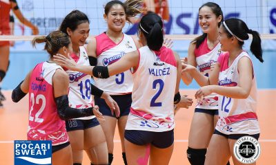 Tiebreaker Times Creamline claims momentary hold on solo first, sweeps Tacloban News PVL Volleyball  Tai Bundit Tacloban Fighting Warays Nes Pamilar Melissa Gohing Kuttika Kaewpin Jovielyn Prado Jia Morado Hyapa Amporn Creamline Cool Smashers Alyssa Valdez 2018 PVL Women's Reinforced Conference 2018 PVL Season