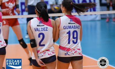Tiebreaker Times From five-setter, Alyssa Valdez, Michele Gumabao rush to ABS-CBN Ball News PVL Volleyball  Michele Gumabao Creamline Cool Smashers Alyssa Valdez 2018 PVL Season 2018 PVL Open Conference