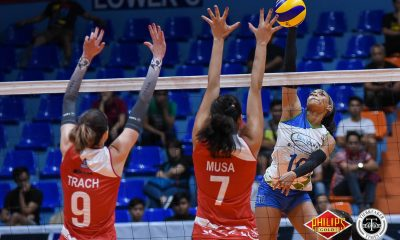 Philippine Sports News - Tiebreaker Times Debuting Janisa Johnson delivers 31, powers Bali Pure-NU past Petro Gazz News PVL Volleyball  Princess Robles Petro Gazz Angels Kadi Kullerkann Joyme Cagande Jerry Yee Jennifer Nierva Janisa Johnson Bali Pure-NU Purest Water Defenders Babes Castillo Anastasia Trach 2018 PVL Women's Reinforced Conference 2018 PVL Season