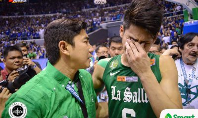 Philippine Sports News - Tiebreaker Times Aldin Ayo happy for Ricci Rivero: 'I wish him luck' Basketball News UP UST  UST Men's Basketball UP Men's Basketball Ricci Rivero Aldin Ayo 2018 Filoil Preseason Cup