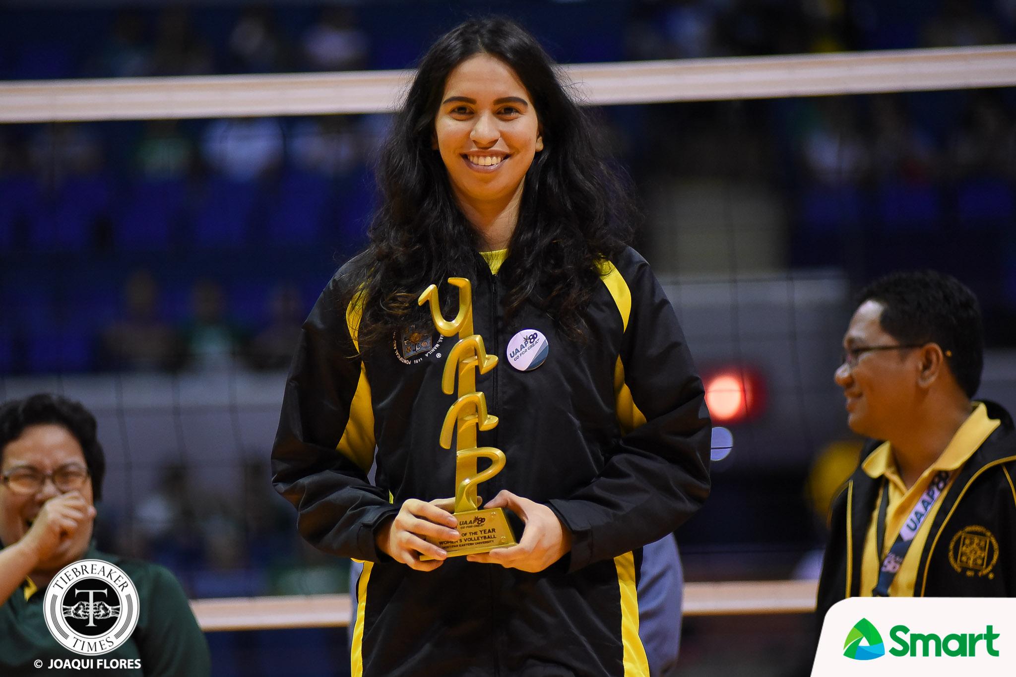 UAAP Season 80 Women's Volleyball Awarding Ceremony: Jaja ...