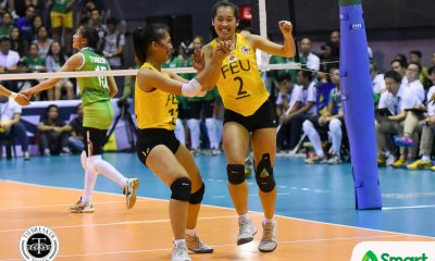 Philippine Sports News - Tiebreaker Times Bernadeth Pons was the superstar FEU deserved FEU News UAAP Volleyball  UAAP Season 80 Women's Volleyball UAAP Season 80 Shaq delos Santos Remy Palma George Pascua FEU Women's Volleyball Cherry Rondina Bernadeth Pons