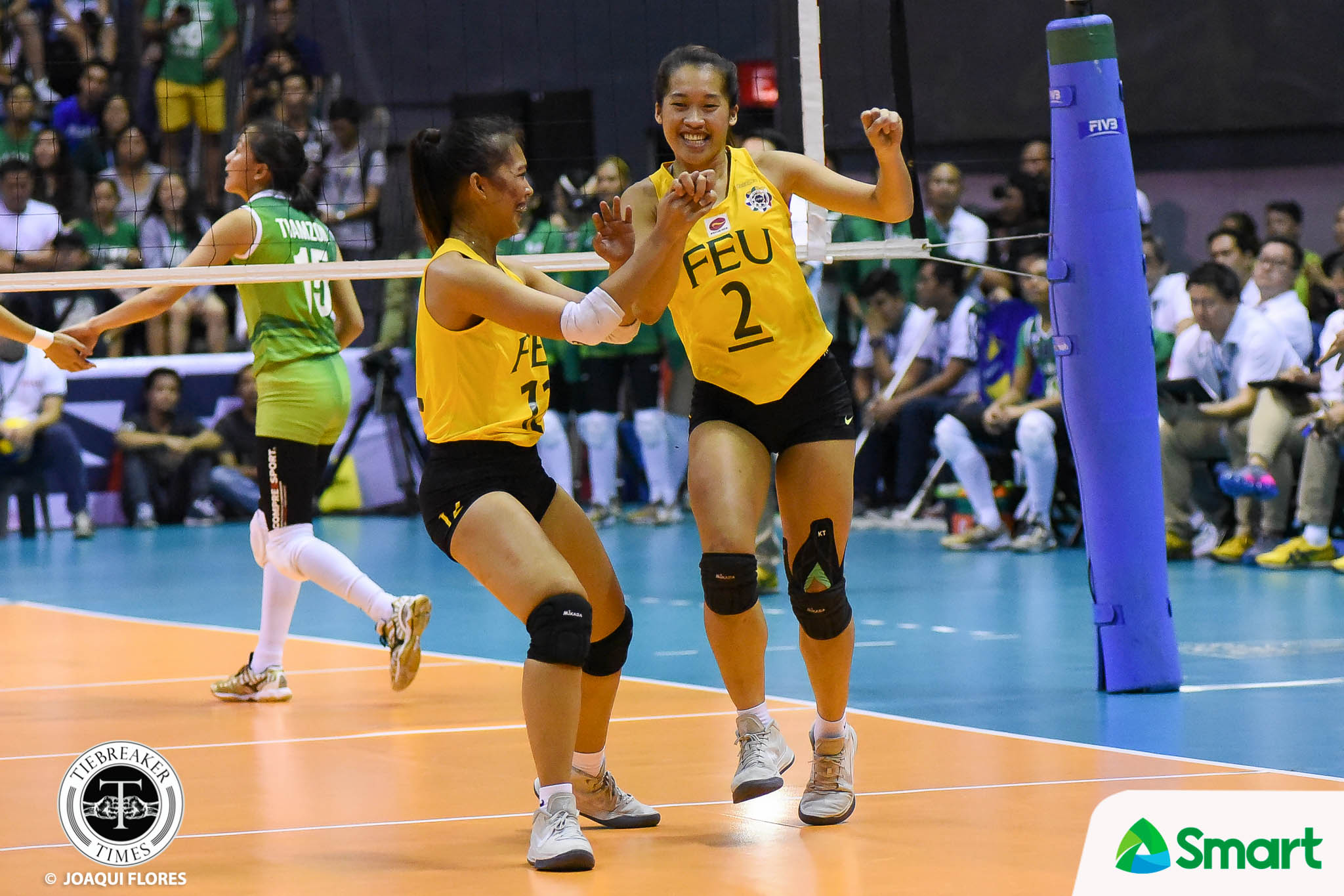 Philippine Sports News - Tiebreaker Times Bernadeth Pons finally gets recognition FEU News Volleyball  UAAP Season 80 Women's Volleyball UAAP Season 80 FEU Women's Volleyball Bernadeth Pons