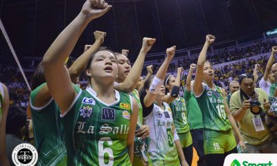 Philippine Sports News - Tiebreaker Times For Michelle Cobb, the process continues DLSU News UAAP Volleyball  UAAP Season 80 Women's Volleyball Tournament UAAP Season 80 Michelle Cobb DLSU Women's Volleyball