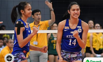 Tiebreaker Times Bea De Leon still undecided, humbled by online clamor for her to return ADMU News UAAP Volleyball  UAAP Season 82 Women's Volleyball UAAP Season 82 Bea De Leon Ateneo Women's Volleyball