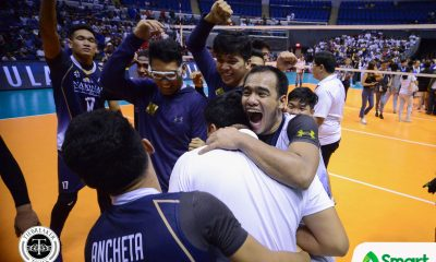 Tiebreaker Times Ricky Marcos firmly decided to run it back with NU News NU UAAP Volleyball  uaap season 82 men's volleyball UAAP Season 82 Ricky Marcos NU Men's Volleyball
