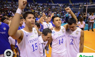 Philippine Sports News - Tiebreaker Times After fruitful UAAP career, Marck Espejo looks to take act overseas ADMU News UAAP Volleyball  UAAP Season 80 Men's Volleyball UAAP Season 80 Marck Espejo Ateneo Men's Volleyball