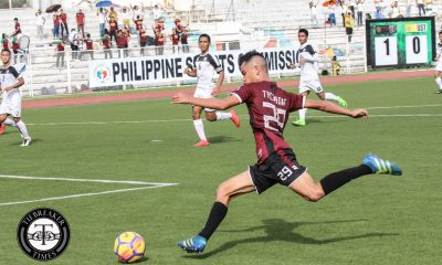 Philippine Sports News - Tiebreaker Times Fidel Tacardon elated to contribute in first year with UP Football News UAAP UP  UP Men's Football UAAP Season 80 Men's Football UAAP Season 80 Fidel Tacardon