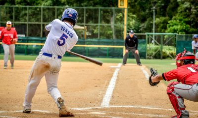 Tiebreaker Times Jerome Yenson's 3-run double keeps Philippines slate unblemished heading to HK showdown Baseball News  Jonash Ponce Jon-Jon Robles Jerome Yenson Indonesia (Baseball) Harper Sy Egay delos Reyes Aids Bernardo 2018 BFA East Asia Cup