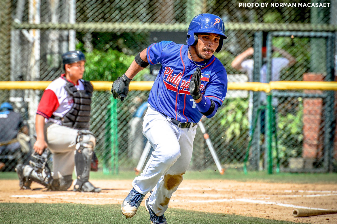 Tiebreaker Times Aids Bernardo stays hot as Philippines makes quick work of Singapore Baseball News  Singapore (Baseball) Kiko Gesmundo Jon-Jon Robles Jerome Yenson Egay delos Reyes Aids Bernardo 2018 BFA East Asia Cup