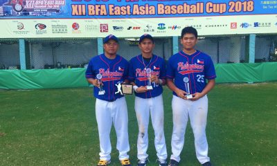 Tiebreaker Times Kiko Gesumndo takes home MVP honor as 4 Filipinos make All-East Asia Cup team Baseball News  Steven Manaig Kiko Gesmundo Jon-Jon Robles Javi Macasaet Erwin Bosito Aids Bernardo 2018 BFA East Asia Cup