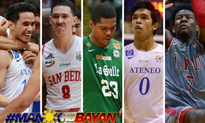 Tiebreaker Times Four 23 for 2023 cadets, Ben Mbala compose Mythical Five ADMU Basketball DLSU LPU NCAA News SBC UAAP  UAAP Season 80 Men's Basketball UAAP Season 80 Thirdy Ravena Robert Bolick NCAA Season 93 Seniors Basketball NCAA Season 93 Matt Nieto CJ Perez Ben Mbala 2018 Collegiate Awards