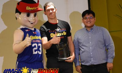 Tiebreaker Times Robert Bolick braves rain, overcomes stomach infection just to get to Collegiate Awards Basketball NCAA News SBC  San Beda Seniors Basketball Robert Bolick NCAA Season 93 Seniors Basketball NCAA Season 93 Chooks-to-Go 2018 Collegiate Awards