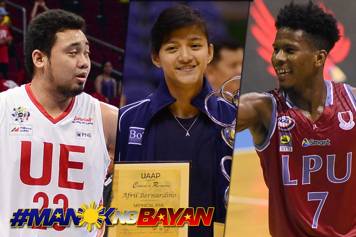 Tiebreaker Times Historic feats and student-athletes to be honored during Collegiate Basketball Awards Basketball LPU NCAA News NU UAAP UE  UAAP Season 80 Men's Basketball UAAP Season 80 3x3 Basketball UAAP Season 80 NCAA Season 93 Seniors Basketball NCAA Season 93 Lyceum Seniors Basketball Alvin Pasaol Afril Bernardino 2018 Collegiate Awards