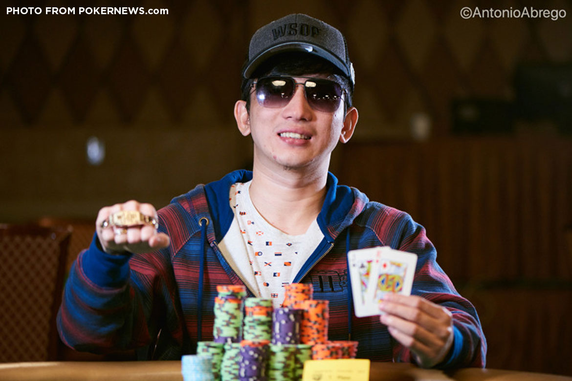 Tiebreaker Times Mike Takayama becomes first homegrown Filipino to win WSOP bracelet News Poker  Mike Takayama 2018 WSOP