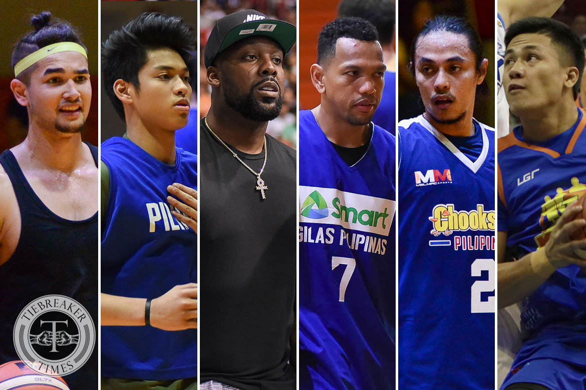 Tiebreaker Times REPORTS: Kobe Paras, Ricci Rivero join TNT core for Asian Games Basketball Gilas Pilipinas News  Troy Rosario Terrence Romeo Roger Pogoy Ricci Rivero Kobe Paras Kelly Williams Jericho Cruz Jayson Castro Don Trollano Anthony Semerad Andray Blatche Abu Tratter 2018 Asian Games-Basketball