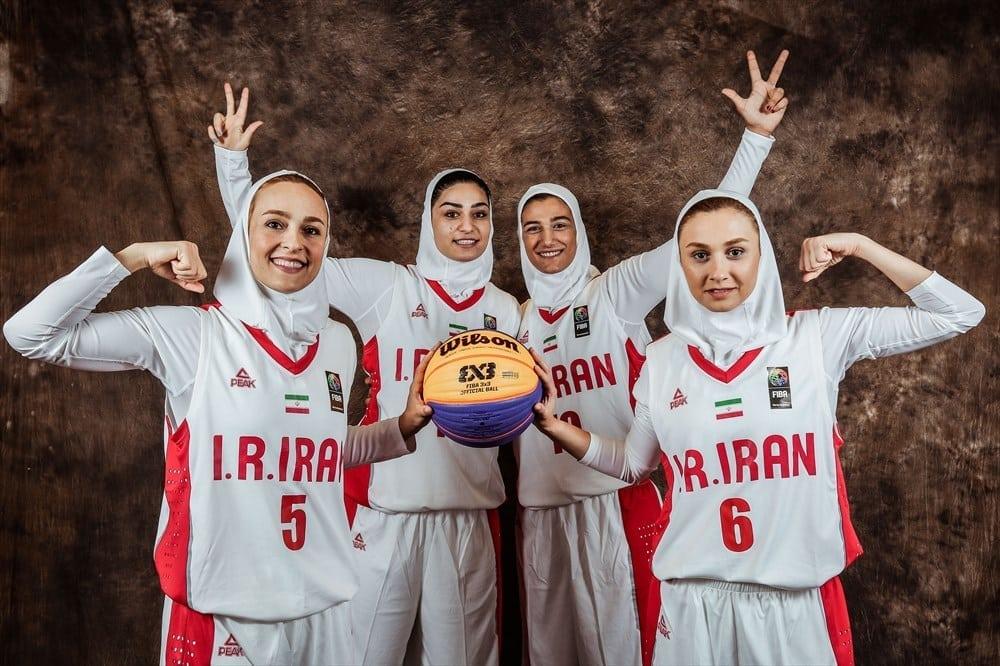 2018 fiba 3×3 world cup – women's – iran