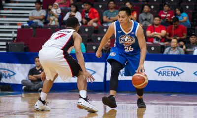 Tiebreaker Times No pressure for Mac Tallo despite having big shoes to fill Basketball News PBA  PBA Season 43 NLEX Road Warriors Mac Tallo 2018 PBA Commissioners Cup