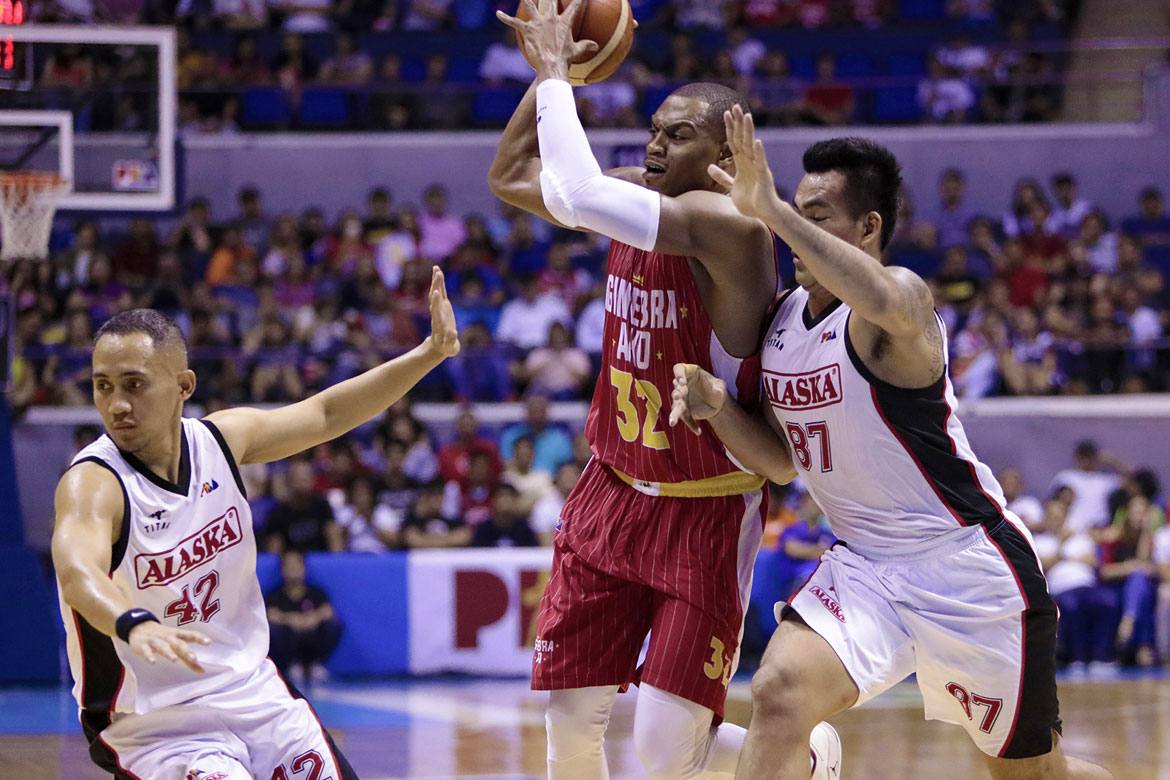 6af617c2df Tiebreaker Times Ginebra continues to roll, routs Alaska for 4th straight  win Basketball News PBA