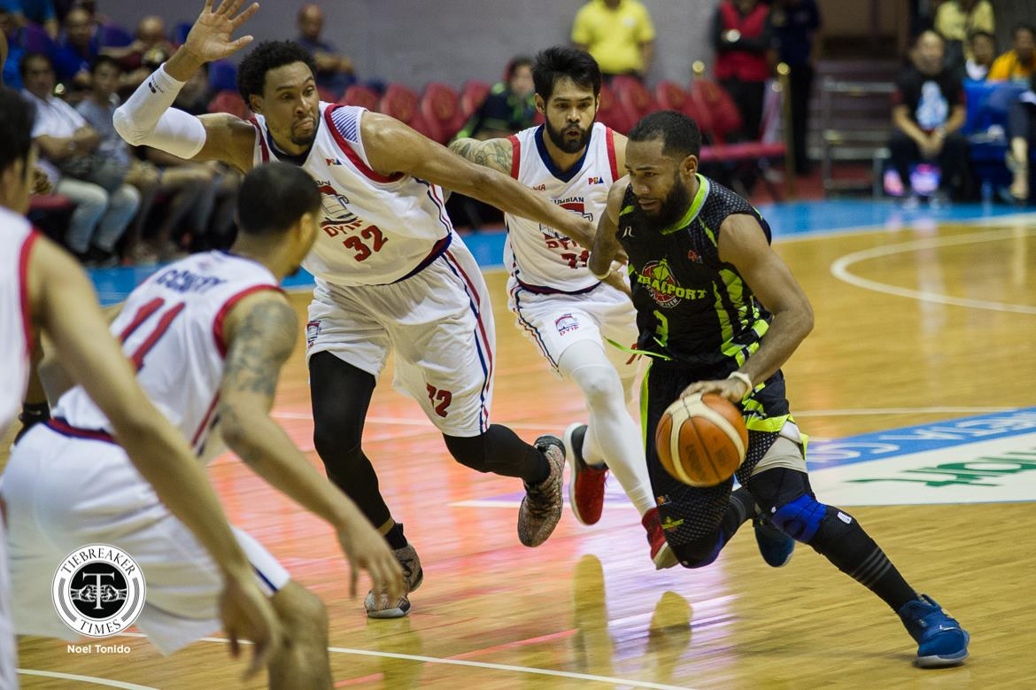 Tiebreaker Times Stanley Pringle says he never thought of racking up 50 points Basketball News PBA  Stanley Pringle PBA Season 43 Globalport Batang Pier 2018 PBA Commissioners Cup