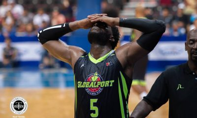 Tiebreaker Times Ejected Malcolm White proud to witness Globalport locals step up Basketball News PBA  PBA Season 43 Malcolm White Globalport Batang Pier 2018 PBA Commissioners Cup