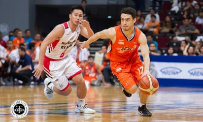 Tiebreaker Times Anjo Caram believes Meralco can clinch twice-to-beat despite tall order ahead Basketball News PBA  PBA Season 43 Meralco Bolts Anjo Caram 2018 PBA Commissioners Cup