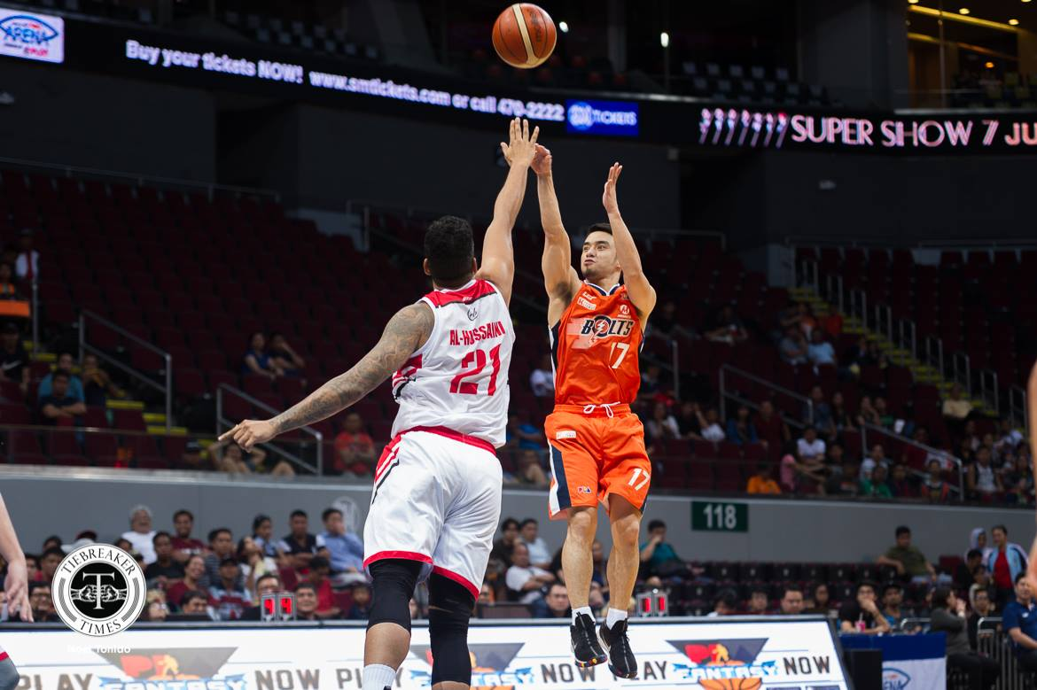 2018 pba commissioners cup – meralco def blackwater – anjo caram