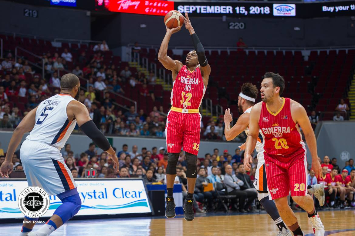 Tiebreaker Times Meralco's energy outmatched Ginebra's, laments Justin Brownlee Basketball News PBA  PBA Season 43 Justin Brownlee Barangay Ginebra San Miguel 2018 PBA Commissioners Cup