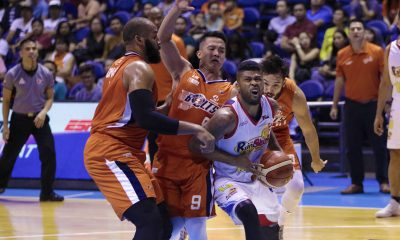 Tiebreaker Times Baser Amer laments Meralco's failed bid for twice-to-beat edge Basketball News PBA  PBA Season 43 Meralco Bolts Baser Amer 2018 PBA Commissioners Cup
