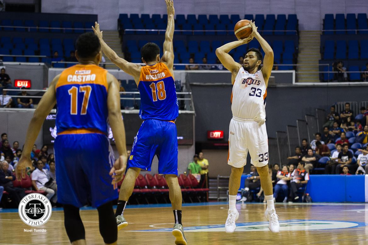 Tiebreaker Times Mixed emotions for RDO in facing former team TNT for the first time Basketball News PBA  Ranidel De Ocampo PBA Season 43 Meralco Bolts 2018 PBA Commissioners Cup