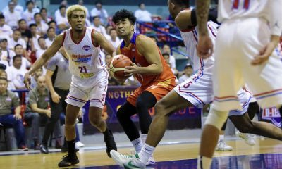 Tiebreaker Times Gab Banal, Go for Gold overcome Trevis Jackson's 34-point explosion Basketball News PBA D-League  Trevis Jackson Marinerong Pilipino-TIP Skippers Koy Banal Jai Reyes Go-for-Gold Scratchers Gab Banal Franky Johnson Charles Tiu 2018 PBA D-League Season 2018 PBA D-League Foundation Cup
