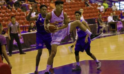 Tiebreaker Times Jorey Napoles shines as Marinerong Pilipino romps AMA Basketball News PBA D-League  Trevis Jackson Mark Herrera Marinerong Pilipino-TIP Skippers Koy Banal Jorey Napoles Irvin Palencia Franky Johnson AMA Online Education Titans Aldrich Liwag 2018 PBA D-League Season 2018 PBA D-League Foundation Cup