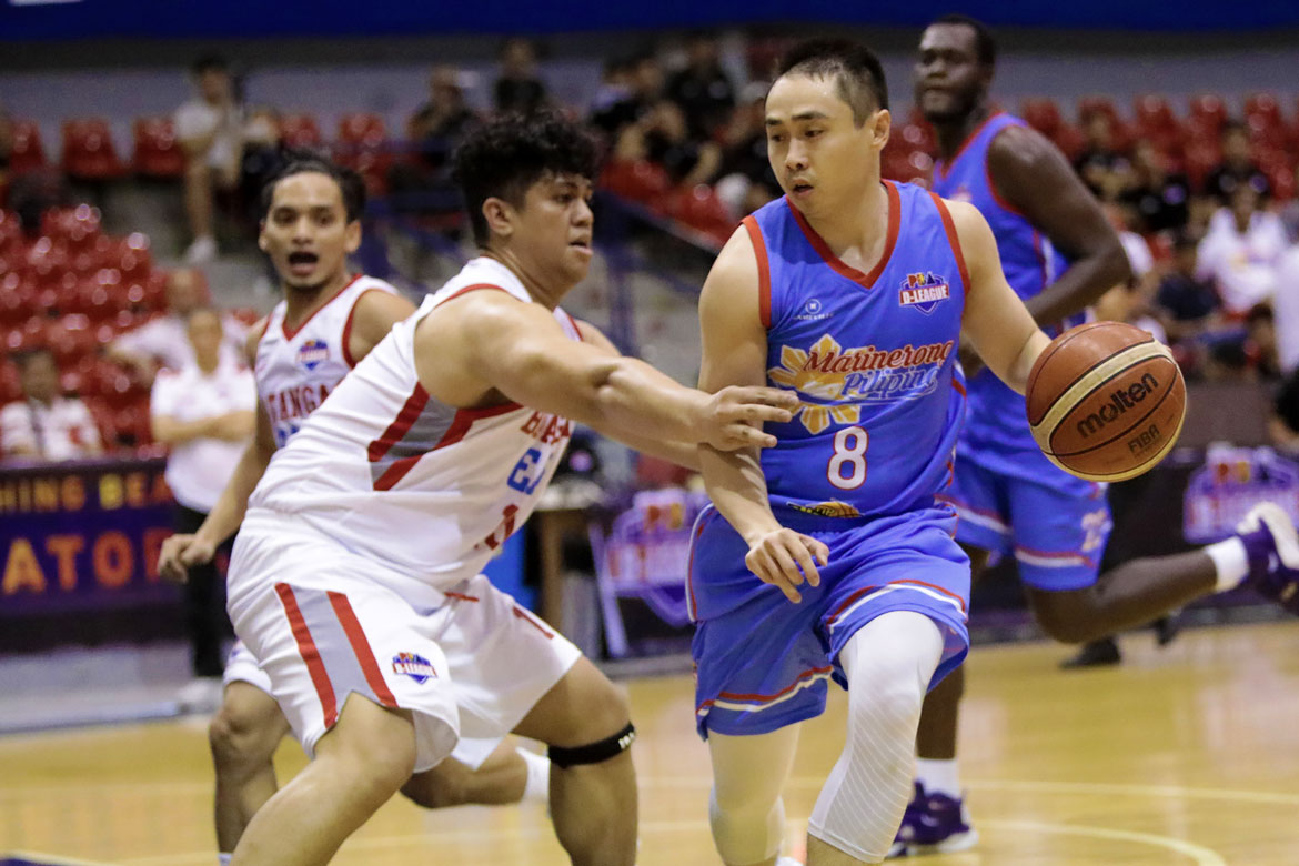 Tiebreaker Times Robbie Manalang, Trevis Jackson link up, lead Skippers 42-point demolition of Batangas Basketball EAC News PBA D-League  Trevis Jackson Robbie Manalang Oliver Bunyi Marinerong Pilipino-TIP Skippers Koy Banal Cedric De Joya Batangas-EAC Generals 2018 PBA D-League Season 2018 PBA D-League Foundation Cup