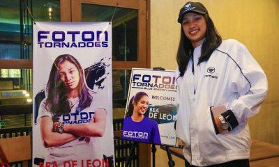 Tiebreaker Times Bea De Leon to join Foton News PVL Volleyball  Foton Tornadoes Bea De Leon 2018 PSL Season 2018 PSL Invitational Cup