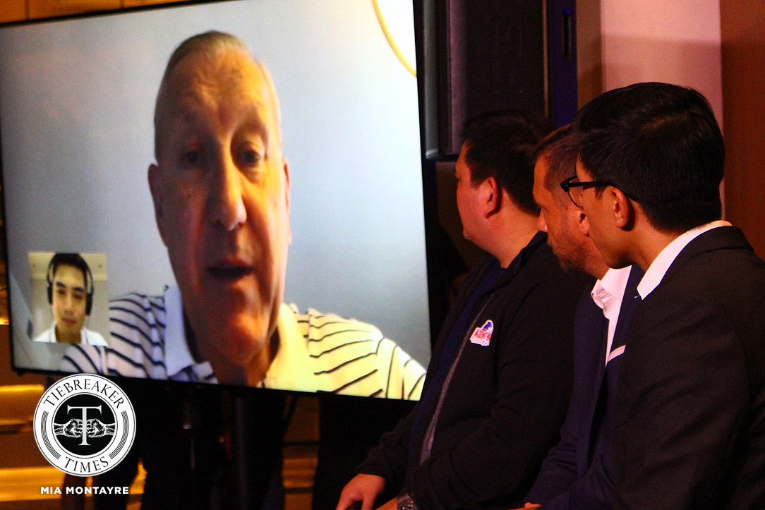 Azkals Terry Butcher PressCon – Butcher via Skype