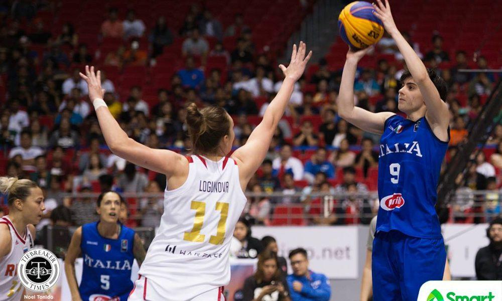 FIBA 3X3 World Cup – Italy def Russia – Clavarella
