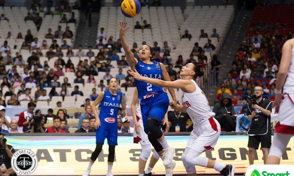 FIBA 3X3 World Cup – Italy def Russia – D'Alie