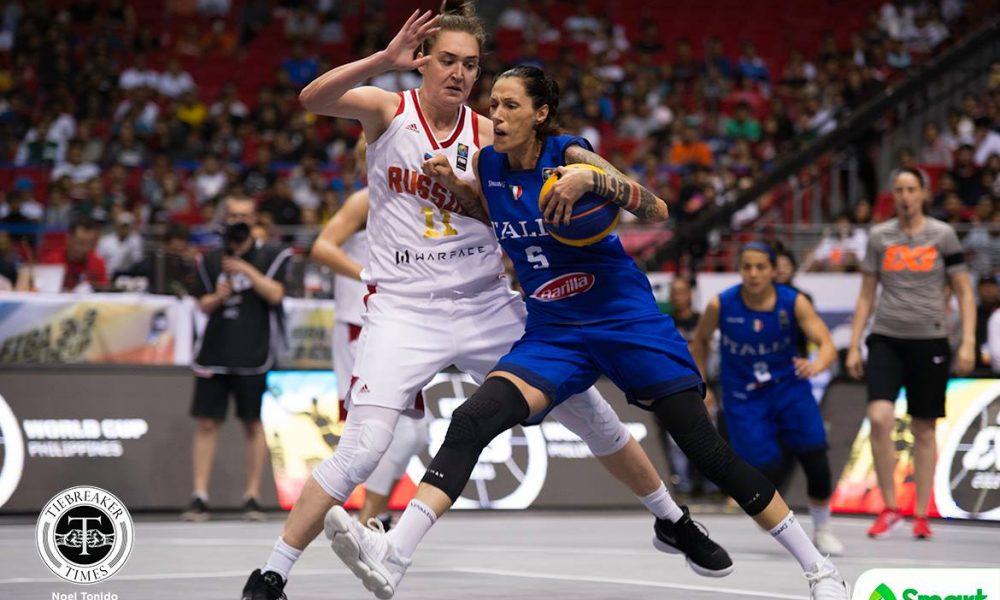FIBA 3X3 World Cup – Italy def Russia – Flippi