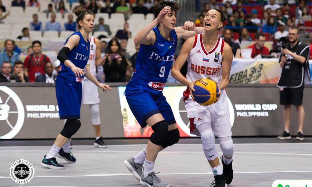 FIBA 3X3 World Cup – Italy def Russia – Leshkovtseva