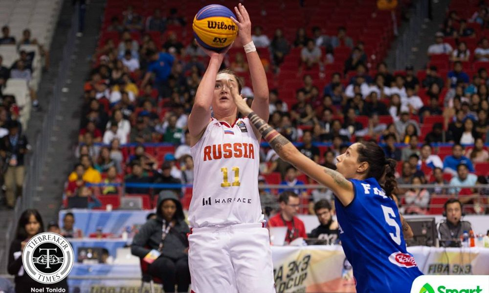 FIBA 3X3 World Cup – Italy def Russia – Logunova