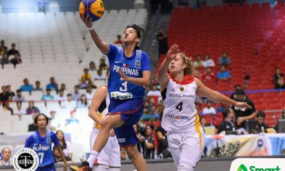 Tiebreaker Times Perlas' brave stand falls short against Germany 2018 FIBA 3X3 World Cup 3x3 Basketball News Perlas Pilipinas  Luana Rodefeld Laura Zdraveski Janine Pontejos Jack Animam Germany (Basketball) Gemma Miranda Afril Bernardino 2018 FIBA 3X3 World Cup - Women