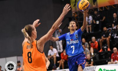 Tiebreaker Times Karin Kuijt waxes hot as Netherlands downs Perlas 3x3 in Pool D opener 2018 FIBA 3X3 World Cup 3x3 Basketball News Perlas Pilipinas  Patrick Aquino Netherlands (Basketball) Karin Kuijt Janine Pontejos Afril Bernardino 2018 FIBA 3x3 World Cup - Women's