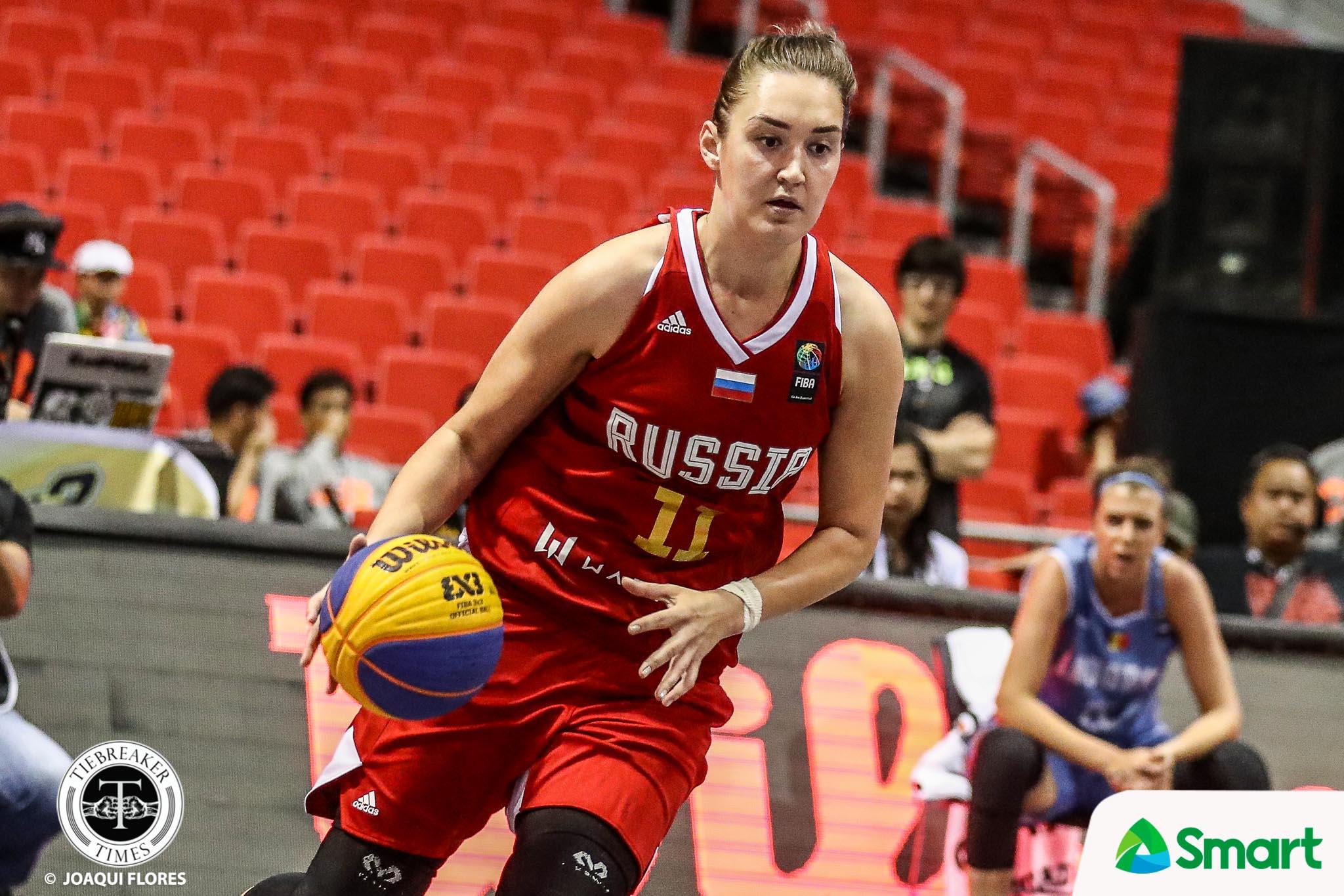 FIBA 3X3 World Cup Russia – Anastasia Logunova-